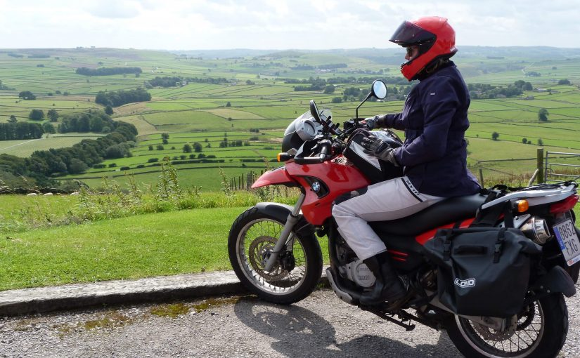 Riding the Peak District